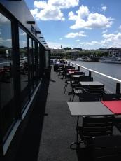 le Bar Rouge sur la Loire à Nantes