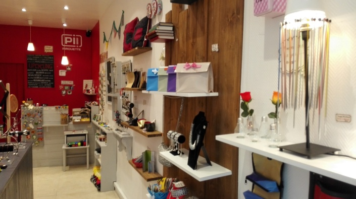 Pirouette boutique upcycling nantes