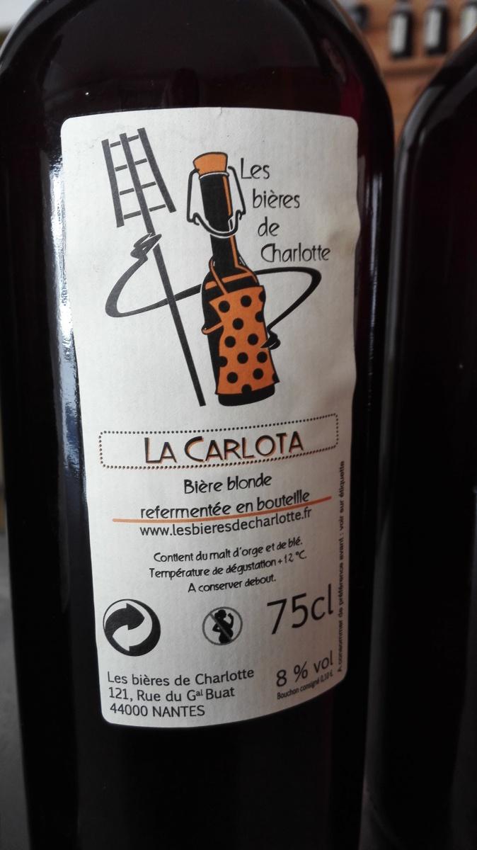 La Carlota, bière star des Bières de Charlotte