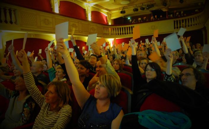Troupe du malin au Théâtre 100 noms à Nantes