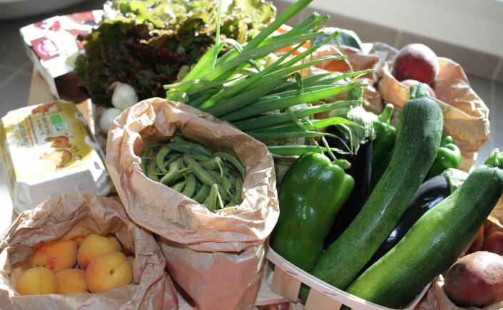 Les paniers de David Nantes légumes bio