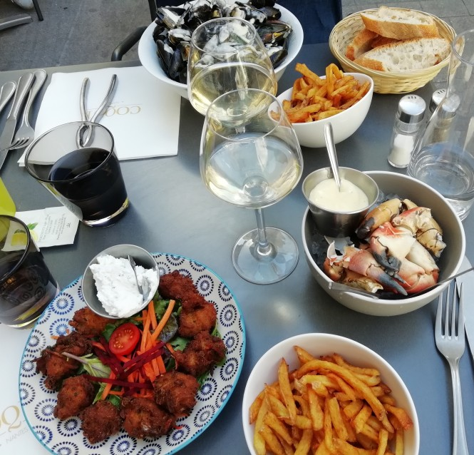 Coque restaurant fruits de mer Nantes