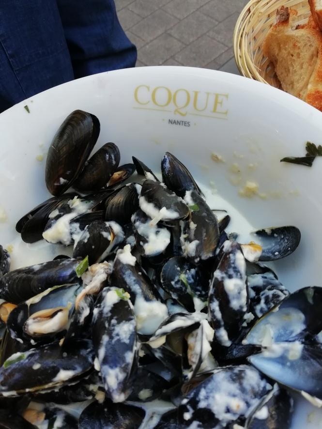 Coque restaurant fruit de mer Nantes