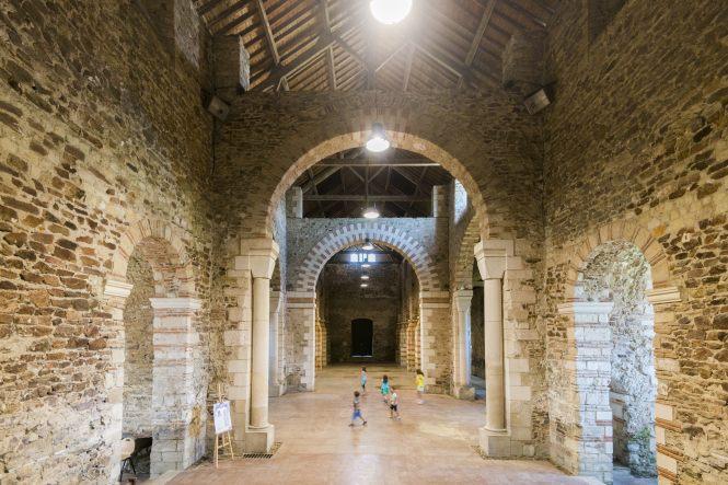L'abbatiale Deas de Saint Philbert de Grand Lieu