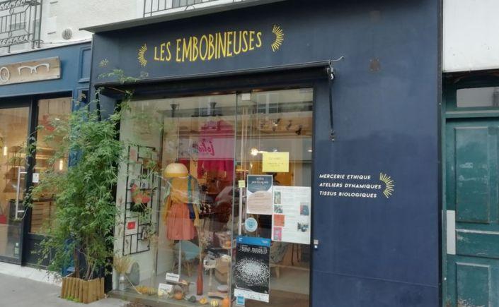 Boutique éthique tissu responsable Les embobineuses Nantes